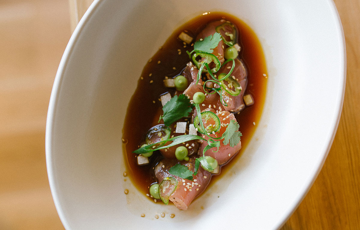 True food kitchen dr andrew weil menu stories podcast the wild caught albacore tataki avocado jalapeo toasted sesame forumfinder Gallery